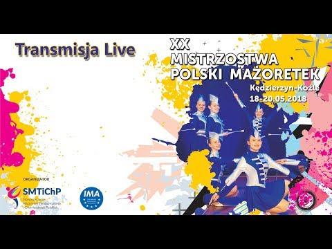 XX Mistrzostwa Polski Mażoretek Kędzierzyn-Koźle - dzień 2