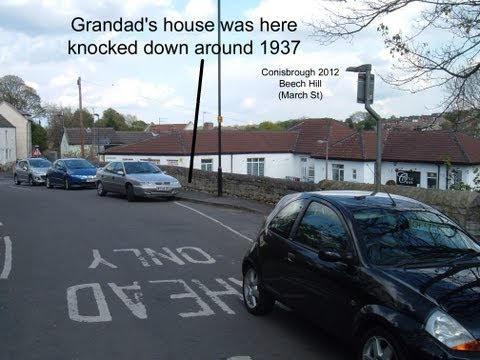 Places in Conisbrough my Granddad would have known