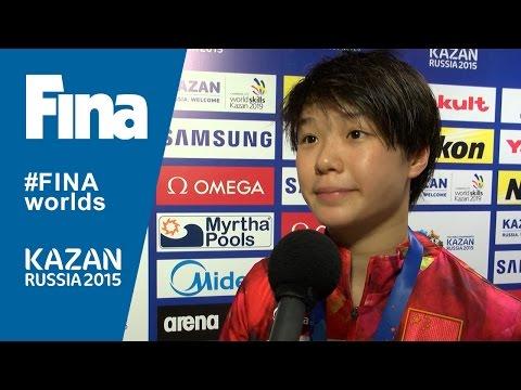 Tingmao Shi: winner of women's 3m Springboard in Kazan (RUS)