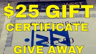 VW,  WOLFSBURG WEST GIFT CERTIFICATE GIVEAWAY. -KEEP DUBBING - CONTEST