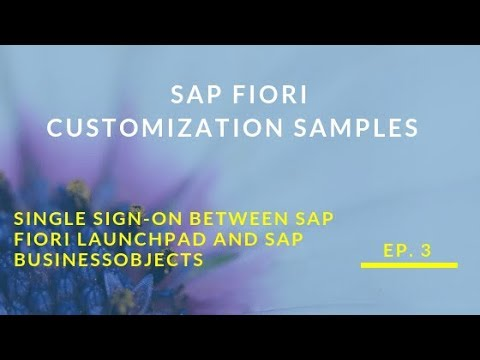 Single Sing On between SAP Fiori Launchpad and SAP Business Objects EN