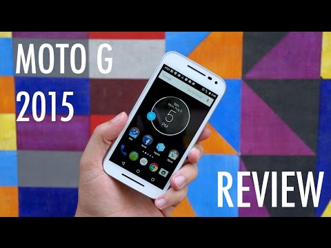 Moto G 2015 Review: Wallet-Friendly & Water-Resistant