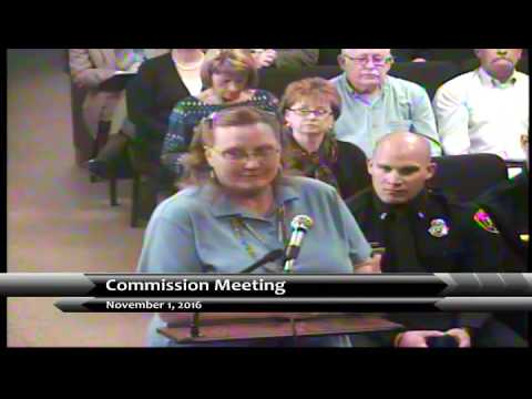 November 1, 2016 Garden City Commission Meeting