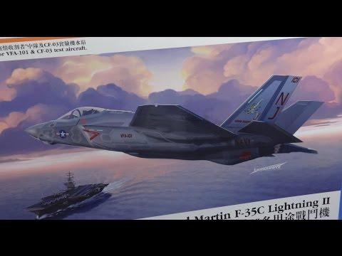 F-35C Lightning II Orange Model FULL VIDEO BUILD