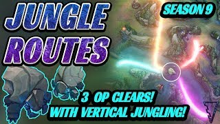 3 Strong Jungle Routes & Pathing Options For Season 9!