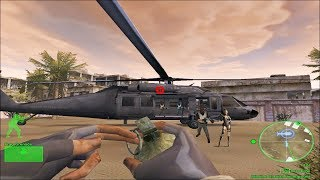 Delta Force: Black Hawk Down, Mission 7, (Russian underground) Gameplay  HD computer games, pc games