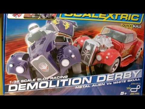 Scalextric Set Review: Demolition Derby