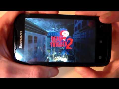 Как идут игры на Lenovo A369i (RealRacing3, DeadTrigger, ClashOfClans) (HD)