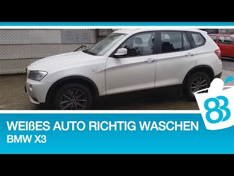 wei es auto richtig waschen bmw x3 auto waschen turorial 83metoo youtube. Black Bedroom Furniture Sets. Home Design Ideas