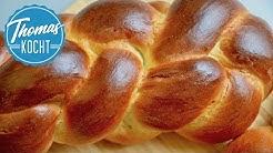 Hefezopf zu Ostern backen und flechten / Thomas kocht
