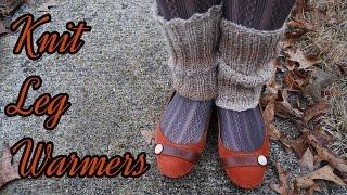 Knit Leg Warmer Tutorial