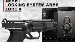 Zore X - smart locking system arms. NEXT IDEA device. tactical