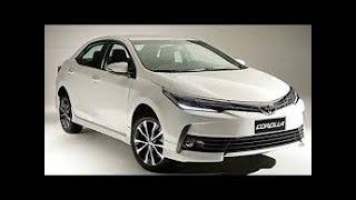 Toyota Corolla 2018. Как мой напарник купил новый автомобиль. Небольшой обзор авто.