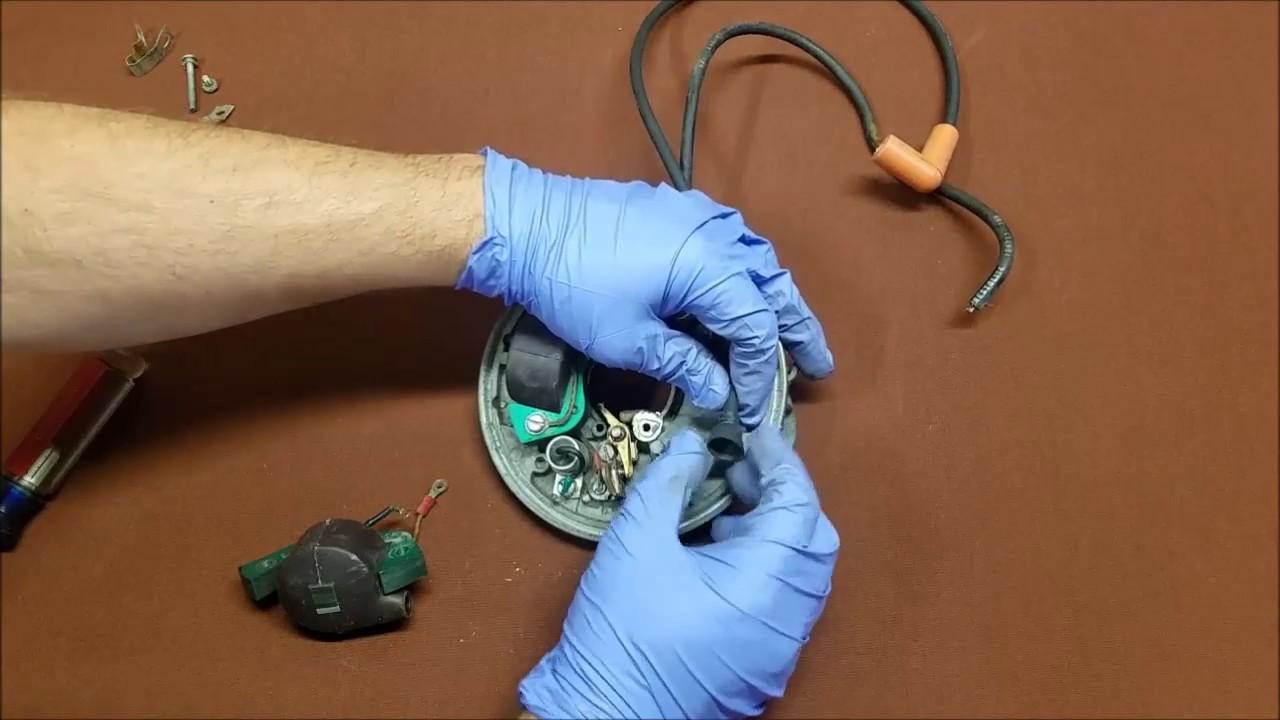 making replacing outboard spark plug wires diy repair [ 1280 x 720 Pixel ]