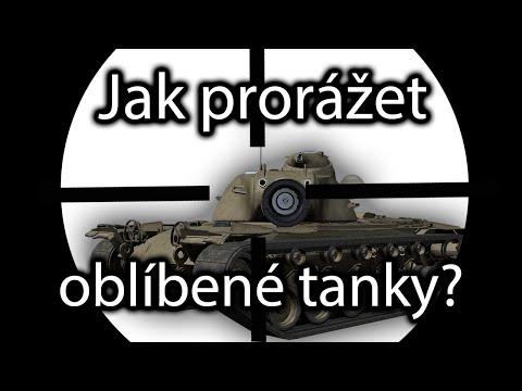 Návod: Jak prorážet oblíbené tanky i s malou průbojností? (tiery 9-10)