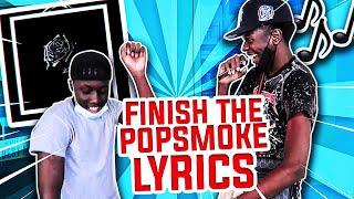 Can POP SMOKE Fans Finish His Lyrics? Pt 2 *Public Interview*