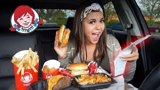 Download Letting The Person in FRONT of Me DECIDE What I Eat at Wendys Mp3 and Videos