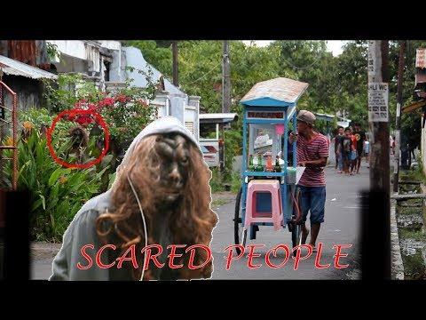 SCARED PEOPLE PRANK - PRANK MANADO (INDONESIA)