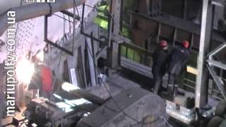 События дня 21.01.2014 (ремонт миксера №3, ММК им.Ильича)