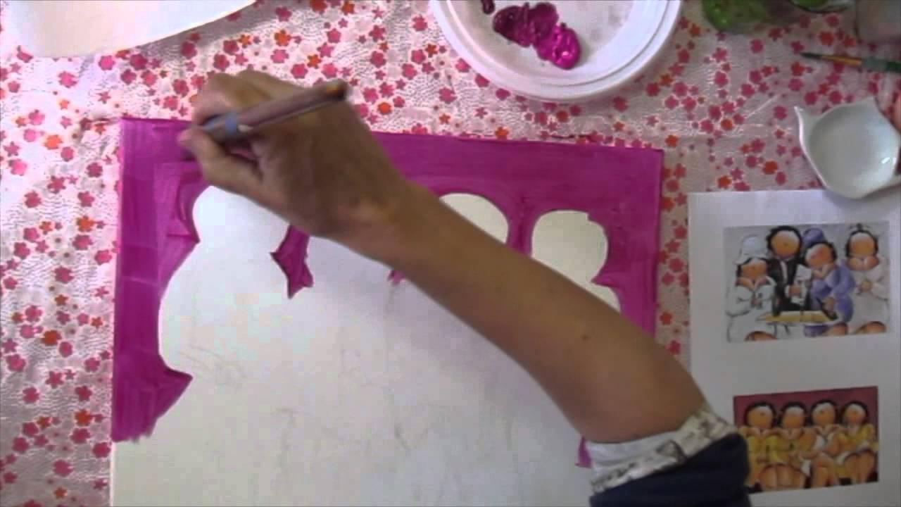 Workshop Dikke Dames schilderen  YouTube