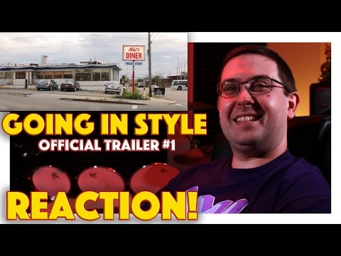 REACTION! Going in Style Official Trailer #1 - Morgan Freeman Movie 2017