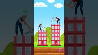 Helping others is important || MOBILE GAME ADS BE LIKE || What if we were in a mobile game? #shorts