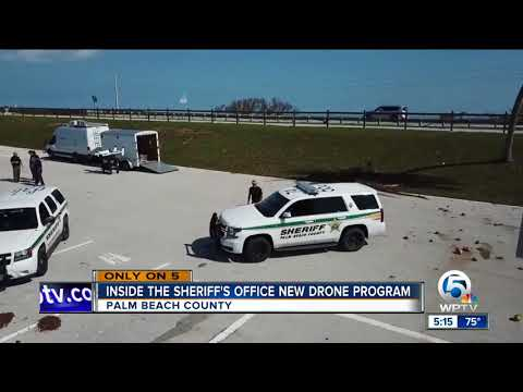 Inside the Palm Beach  County Sheriff's Office  new drone program