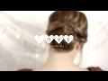 Romantic messy bun ❤ tutorial