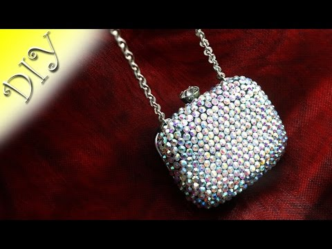 The purse for doll/Bag polymer clay/Miniature/How to make a purse for doll/Bag/DIY/Tutorial