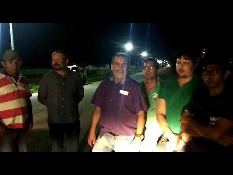 Em Mulungu: Prefeito, beneficia a população do Conjunto José Alves Pereira, com Instalações de Lâmpadas de LED. Vídeo!