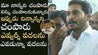 YS Jagan Fires On Chandrababu Naidu Over Vivekananda Reddy Incident