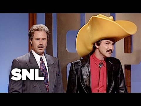 Celebrity Jeopardy!: French Stewart, Burt Reynolds, & Sean Connery  SNL