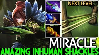 Miracle- [Windranger] Amazing Inhuman Shackles What a Play 7.22 Dota 2
