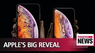 Apple unveils trio of new iPhones, new Apple Watch
