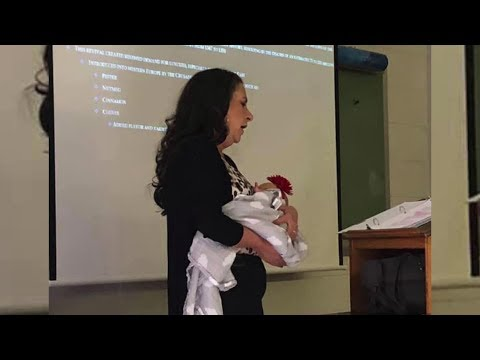 Steve Knoll - Video of UAFS Professor Holding Students Baby Goes Viral