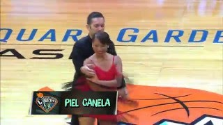 "2015 Piel Canela Dance School NYC ""Salsa Student team"" MSG Halftime show"