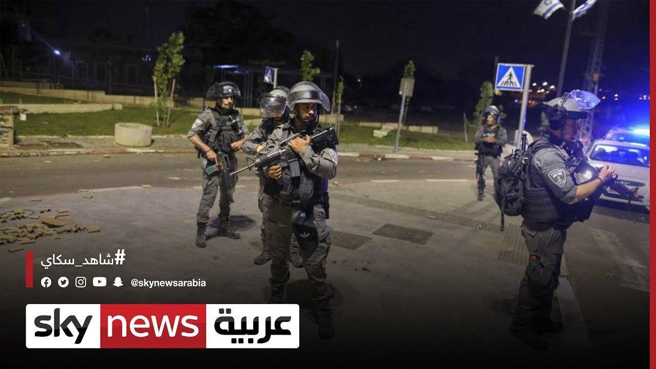 الشرطة تقمع مظاهرة لأنصار اليسار في يافا  - 21:01-2021 / 5 / 13