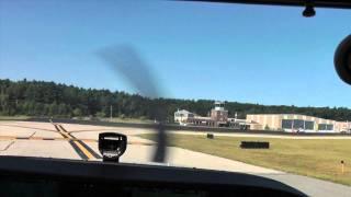Hanscom (KBED) to Nashua (KASH) Cessna 172 7/31/2011