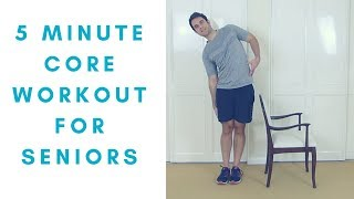 5 minutes of easy to follow, gentle, core exercises for seniors! here is a gentle workout that goes minutes, going through 4 the cor...