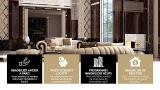 Vente appartement Paris. Immobilier de luxe France. Annonces immobilières gratuites. Agence immo