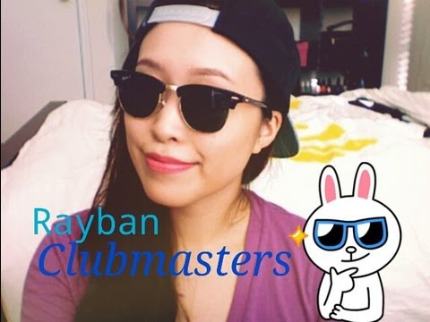 ray ban clubmaster 49  Rayban Clubmasters...My Love - YouTube