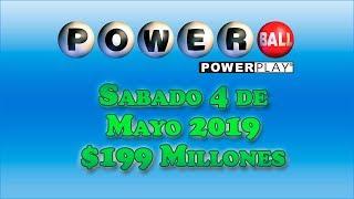 Gambar cover Resultados Powerball 4 de Mayo 2019 $199 Millones de dolares | Powerball en Español