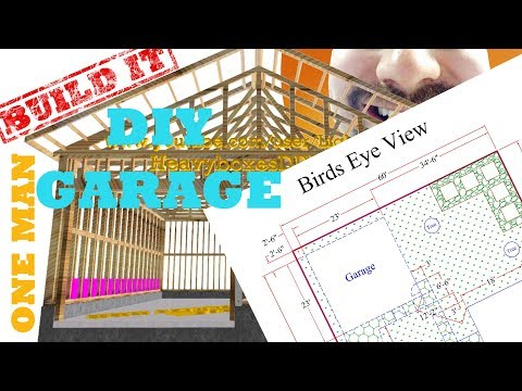 Garage Build - Blueprints and Permit | BUILD IT