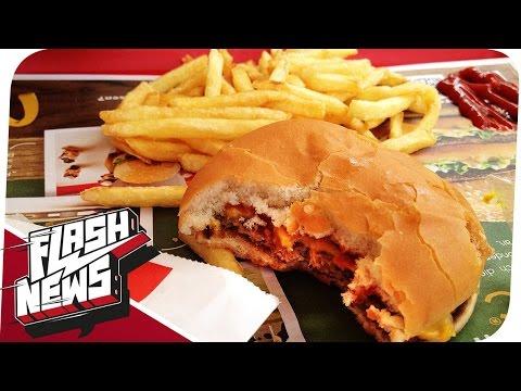 Reisesperren im Perso und McDonalds ohne Fleisch? - FLASH NEWS