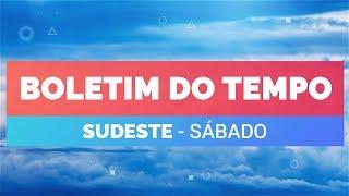 Previsão Sudeste – Tempo instável no RJ