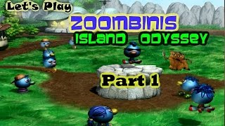 Let's Play Zoombinis Island Odyssey Part 1 - Rough Start