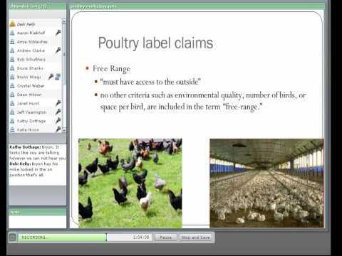Webinar 3 - Marketing of Poultry