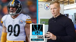 Week 15 Cheat Sheet: How Pittsburgh Steelers brings pressure | Chris Simms Unbuttoned | NBC Sports