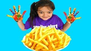 Masal Pretend Play Wash Hand & Brush Teeth - Fun Kids Video