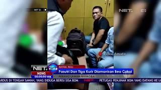 Tiga Kurir dan Pasutri Diamankan Bea Cukai Bandara Batam Karena Kedapatan Membawa Narkoba - NET 24